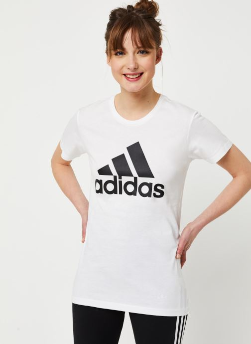Kleding adidas performance W Bos Co Tee Wit detail