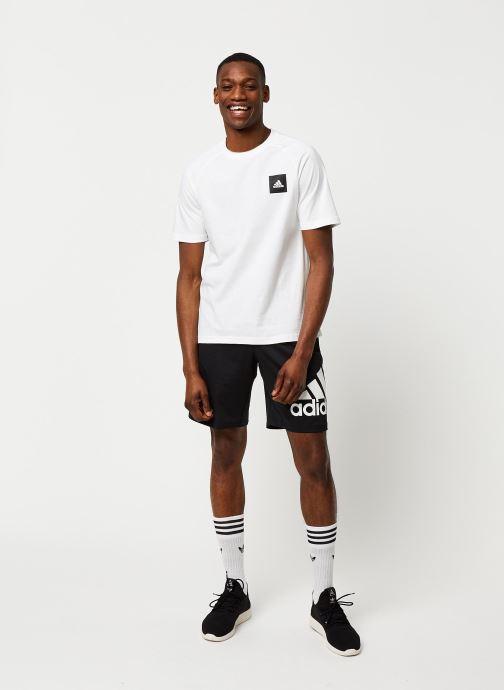 Vêtements adidas performance 4K_Spr A Bos 9 Noir vue bas / vue portée sac