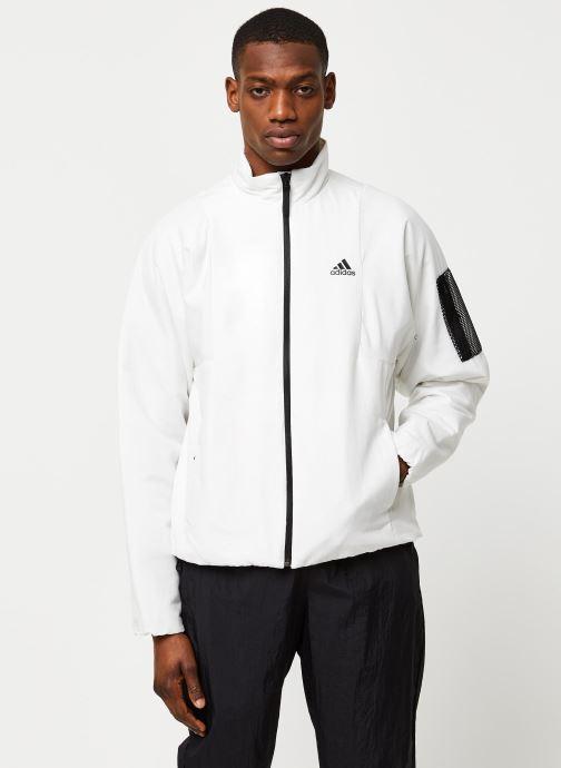 Vêtements adidas performance Bts Lined Jkt Blanc vue droite