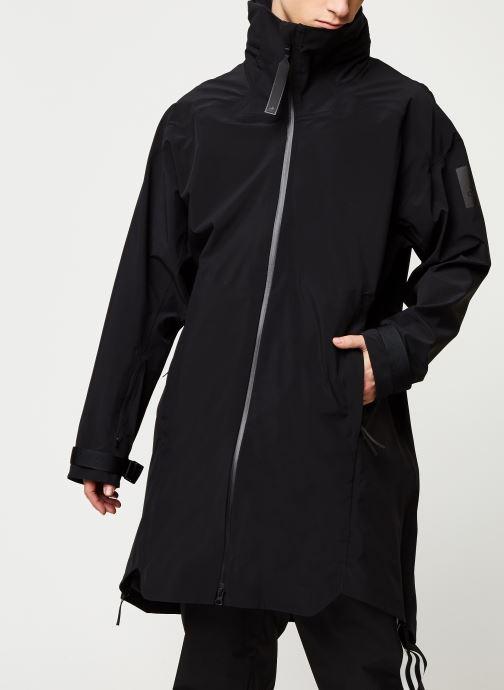 Vêtements adidas performance Myshelter Parka Noir vue droite