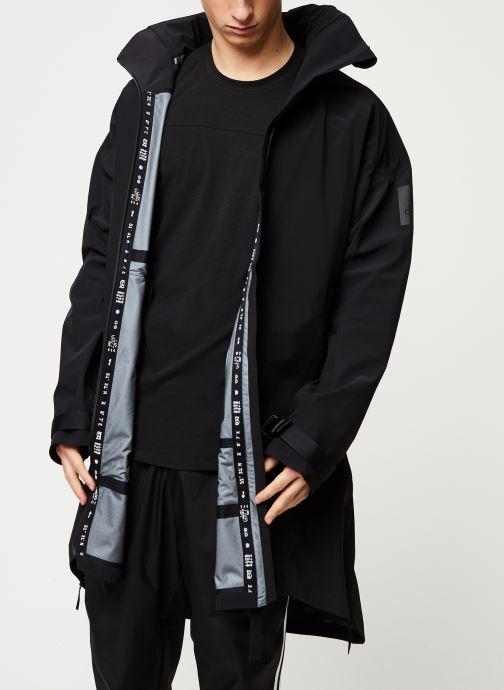 Vêtements adidas performance Myshelter Parka Noir vue détail/paire