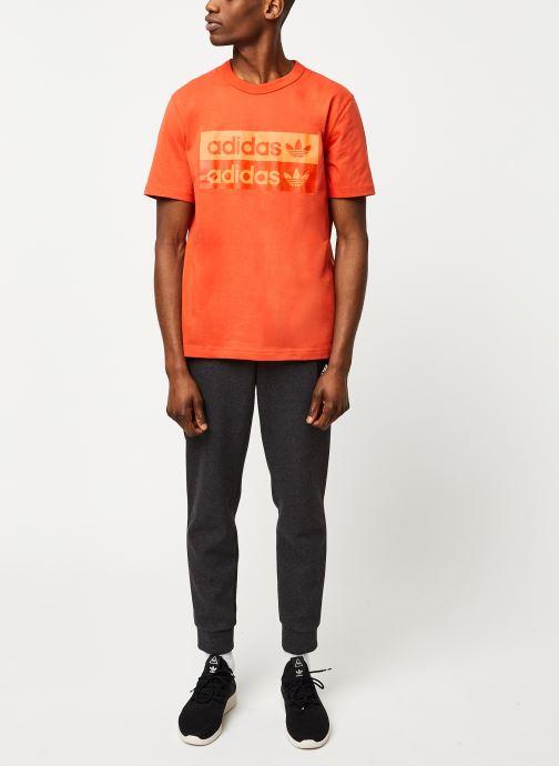 Vêtements adidas performance Mhe Pant Sta Noir vue bas / vue portée sac