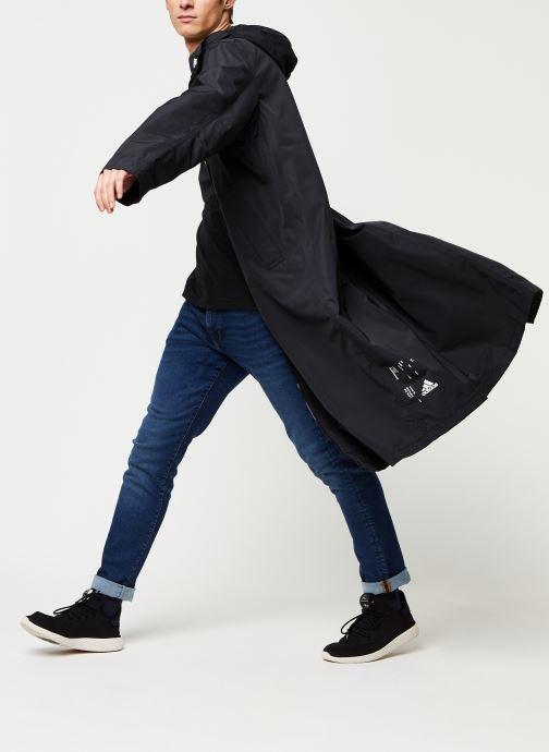 Vêtements adidas performance M Tech Parka Noir vue bas / vue portée sac