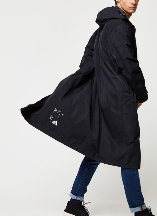 Vêtements adidas performance M Tech Parka Noir vue détail/paire