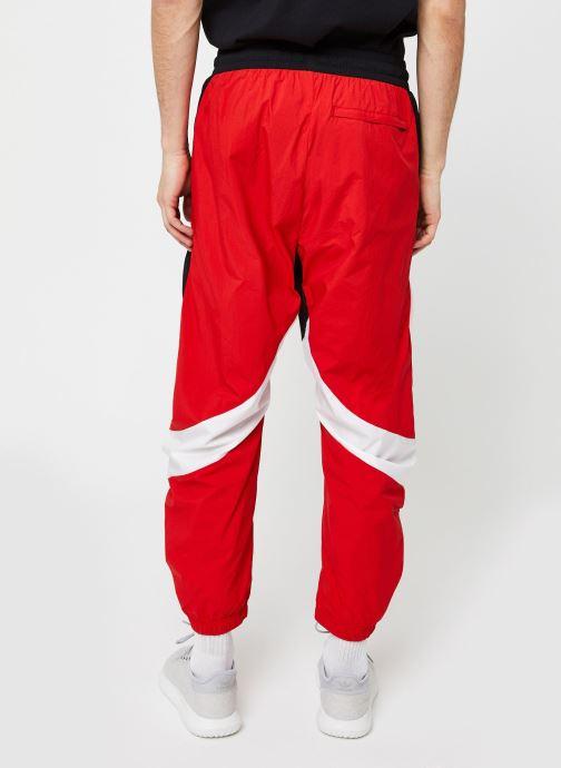 Vêtements adidas performance M O Shape Pant Rouge vue portées chaussures