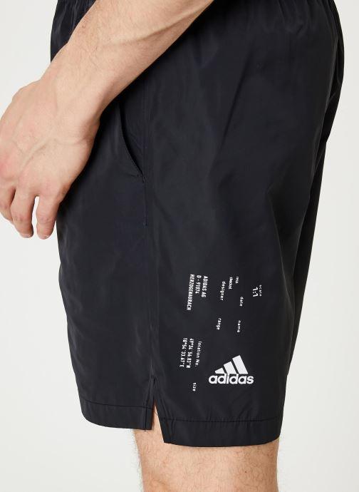 Vêtements adidas performance M Tech Shorts Noir vue face
