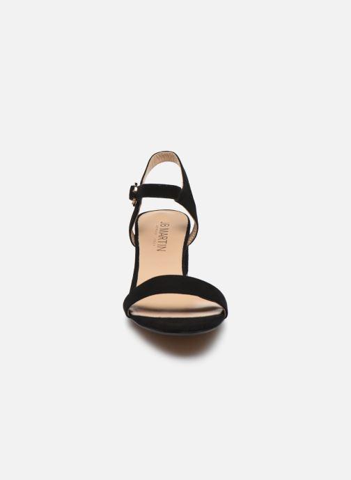 Sandales et nu-pieds JB MARTIN MALINA Noir vue portées chaussures