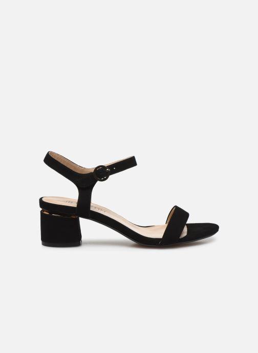 Sandales et nu-pieds JB MARTIN MALINA Noir vue derrière