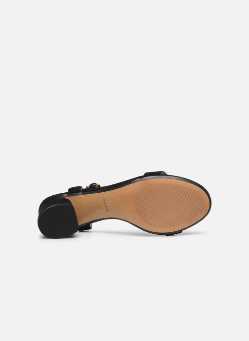 Sandales et nu-pieds JB MARTIN MALINA Noir vue haut