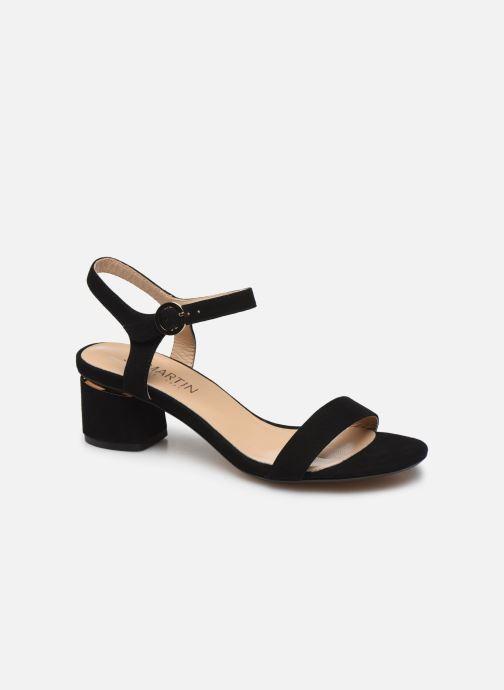 Sandales et nu-pieds JB MARTIN MALINA Noir vue détail/paire
