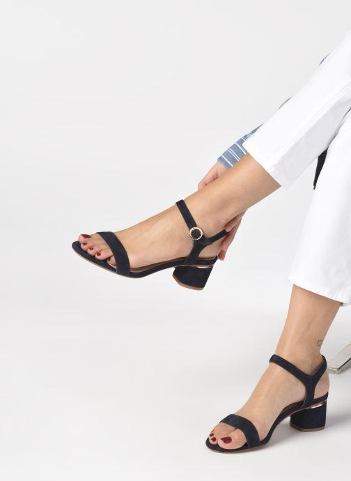 Sandales et nu-pieds JB MARTIN MALINA Bleu vue bas / vue portée sac