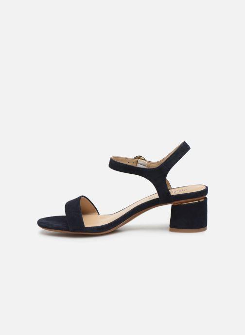 Sandales et nu-pieds JB MARTIN MALINA Bleu vue face