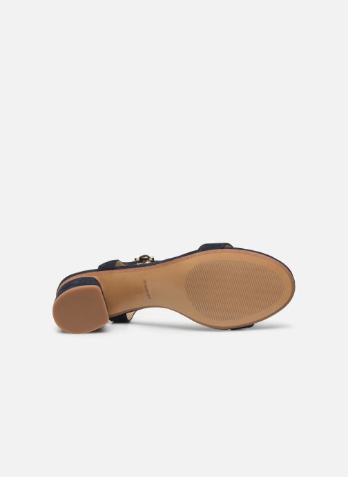 Sandales et nu-pieds JB MARTIN MALINA Bleu vue haut