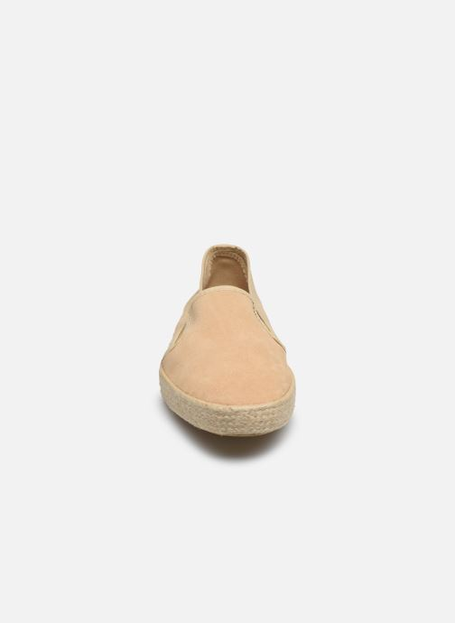 Espadrilles 1789 CALA Azur Beige vue portées chaussures