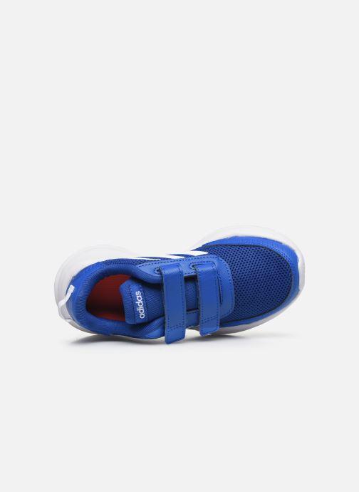 Chaussures de sport adidas performance Tensaur Run C Bleu vue gauche