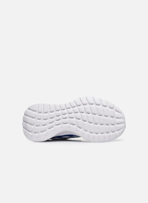 Chaussures de sport adidas performance Tensaur Run C Bleu vue haut