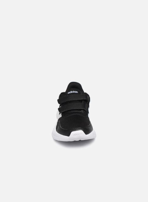 Chaussures de sport adidas performance Tensaur Run C Noir vue portées chaussures