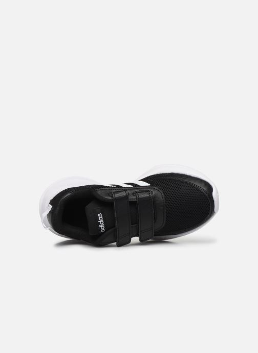 Sport shoes adidas performance Tensaur Run C Black view from the left
