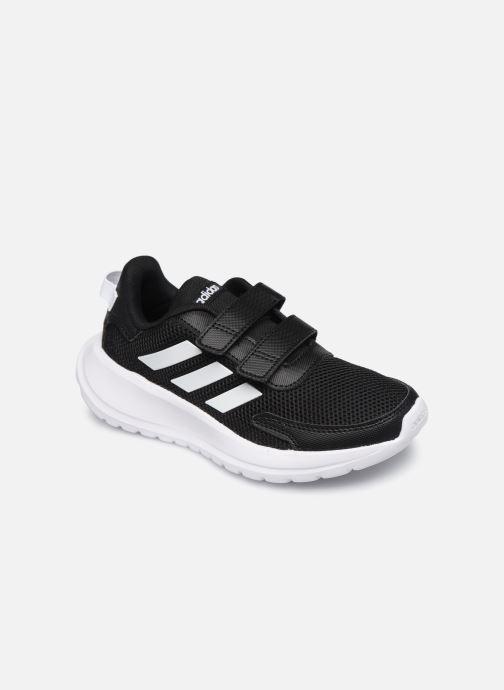 Sport shoes adidas performance Tensaur Run C Black detailed view/ Pair view