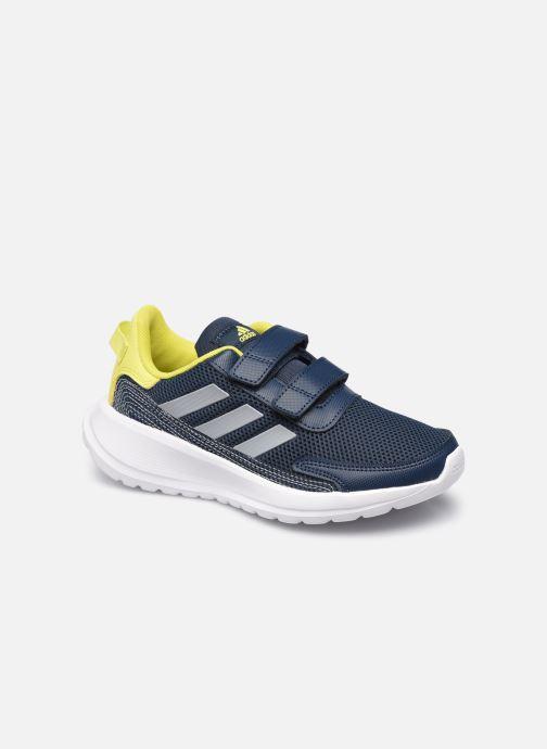 Sportschoenen adidas performance Tensaur Run C Blauw detail