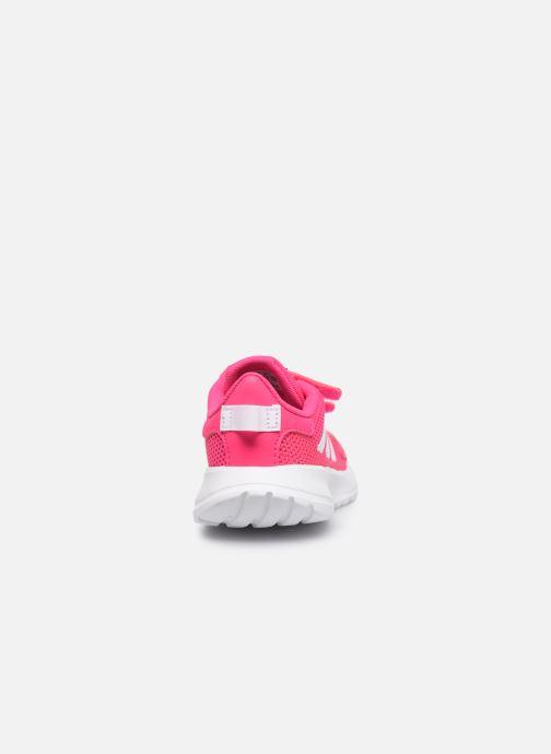 Chaussures de sport adidas performance Tensaur Run I Rose vue droite