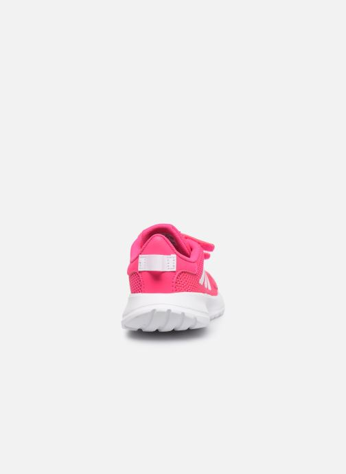 Zapatillas de deporte adidas performance Tensaur Run I Rosa vista lateral derecha