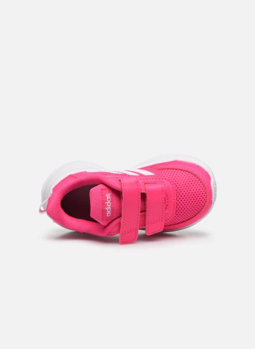 Chaussures de sport adidas performance Tensaur Run I Rose vue gauche