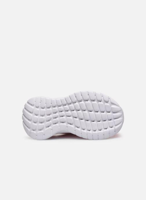 Chaussures de sport adidas performance Tensaur Run I Rose vue haut
