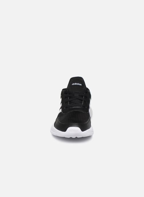 Chaussures de sport adidas performance Tensaur Run K Noir vue portées chaussures