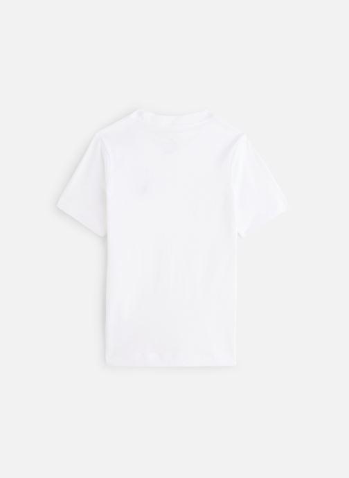 Vêtements Nike Nike Sportswear Tee Emb Futura Blanc vue bas / vue portée sac