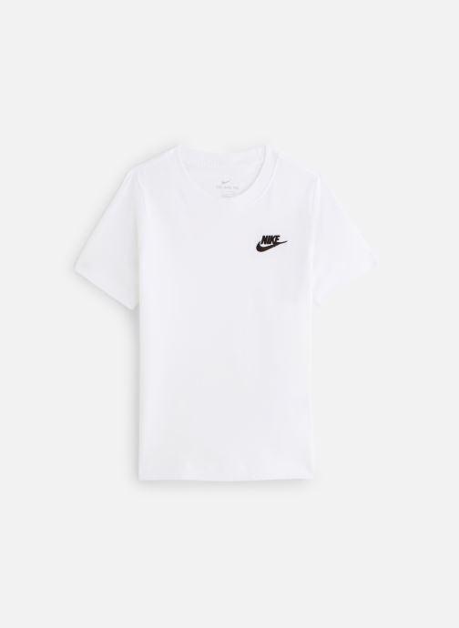 Vêtements Nike Nike Sportswear Tee Emb Futura Blanc vue détail/paire