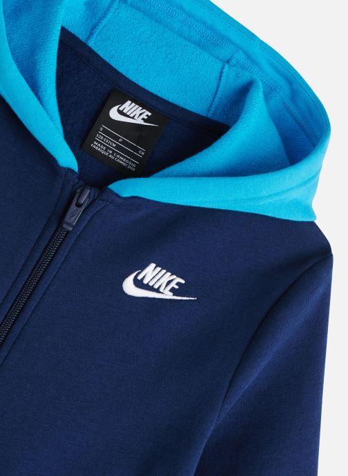 Vêtements Nike Nike Sportswear Core Bf Trk Suit Bleu vue portées chaussures