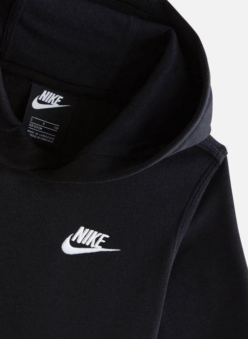 Vêtements Nike Nike Sportswear Club Po Hoodie Noir vue portées chaussures