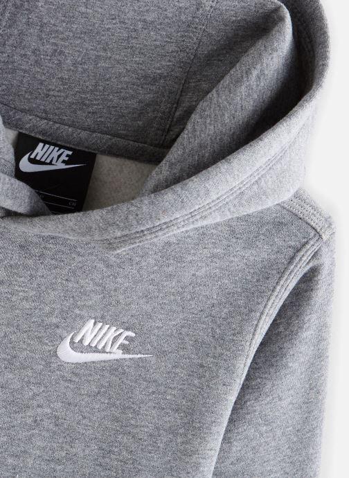 Vêtements Nike Nike Sportswear Club Po Hoodie Gris vue portées chaussures