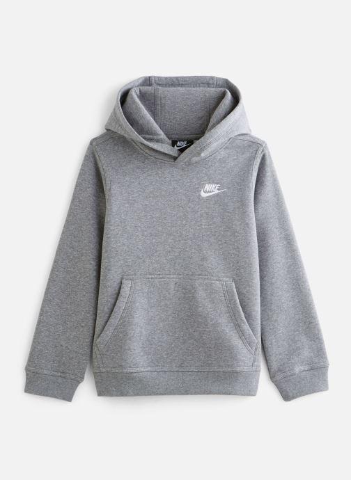 Vêtements Nike Nike Sportswear Club Po Hoodie Gris vue détail/paire