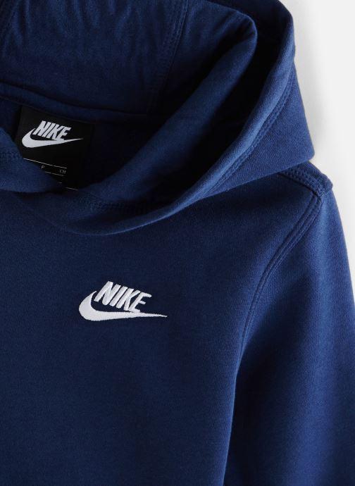 Vêtements Nike Nike Sportswear Club Po Hoodie Bleu vue portées chaussures
