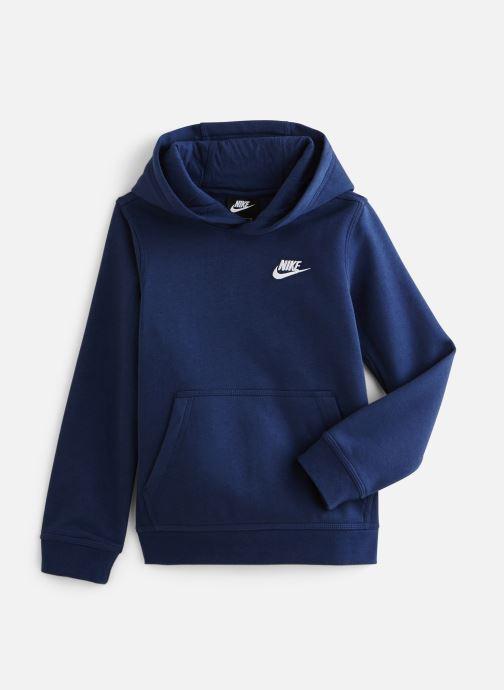 Vêtements Nike Nike Sportswear Club Po Hoodie Bleu vue détail/paire