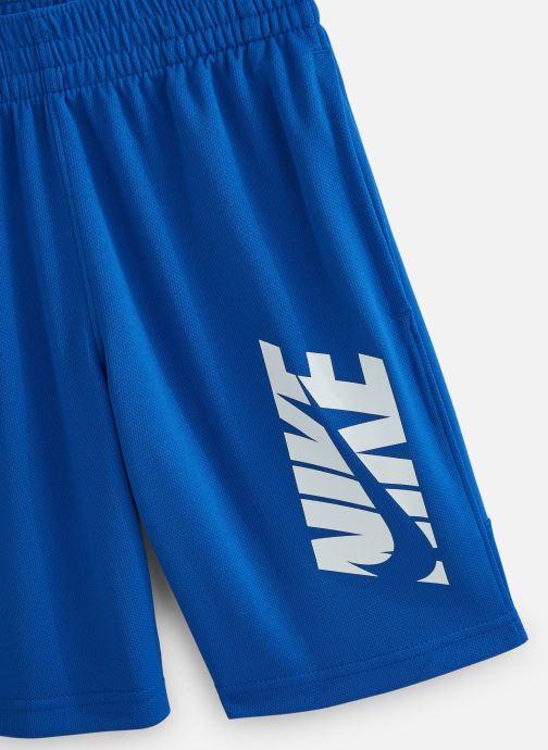 Vêtements Nike Nike Hbr Short Bleu vue portées chaussures