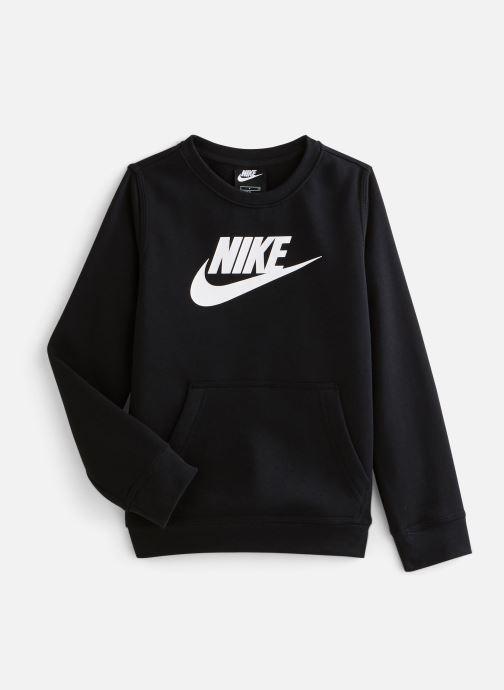 Vêtements Nike Nike Sportswear Club Fleece + Hbr Crew Noir vue détail/paire