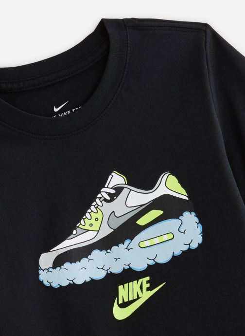 Vêtements Nike Nike Sportswear Tee Am90 Clouds Noir vue portées chaussures