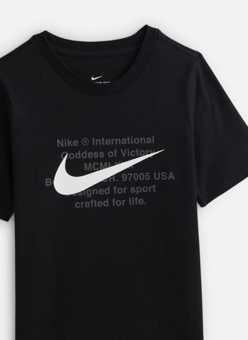 Vêtements Nike Nike Sportswear Tee Swoosh For Life Noir vue portées chaussures