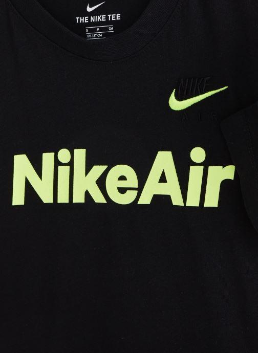 Vêtements Nike B Nsw Tee Nike Air C&S Noir vue portées chaussures
