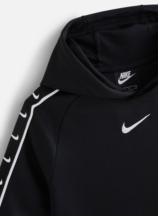 Vêtements Nike Nike Sportswear Hoody Pk Swoosh Tape Noir vue portées chaussures
