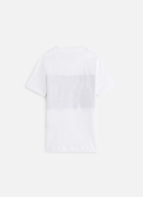 Vêtements Nike Nike Air Tee Ss Blanc vue bas / vue portée sac