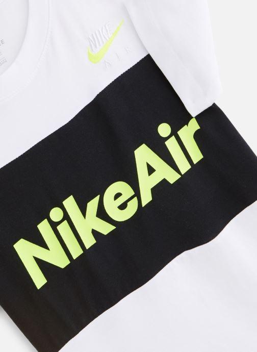 Vêtements Nike Nike Air Tee Ss Blanc vue portées chaussures