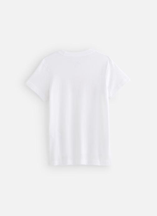 Vêtements Nike Nike Sportswear Tee Dptl Basic Futura Blanc vue bas / vue portée sac