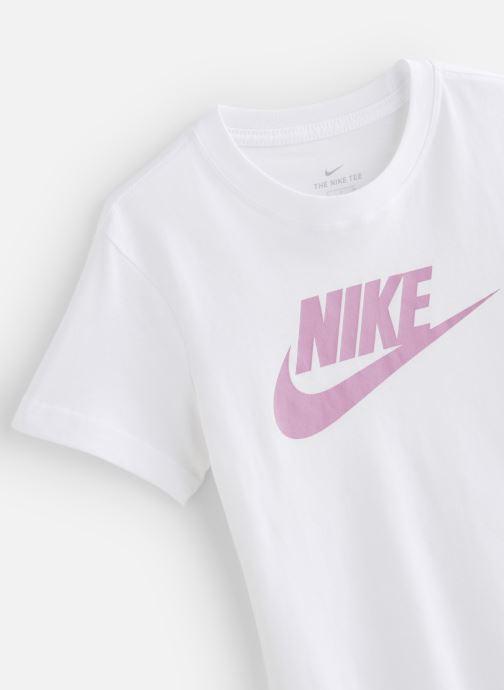 Vêtements Nike Nike Sportswear Tee Dptl Basic Futura Blanc vue portées chaussures