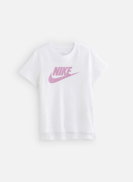Vêtements Nike Nike Sportswear Tee Dptl Basic Futura Blanc vue détail/paire