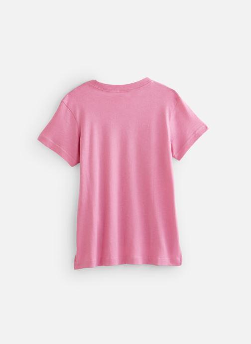Vêtements Nike Nike Sportswear Tee Dptl Basic Futura Rose vue bas / vue portée sac
