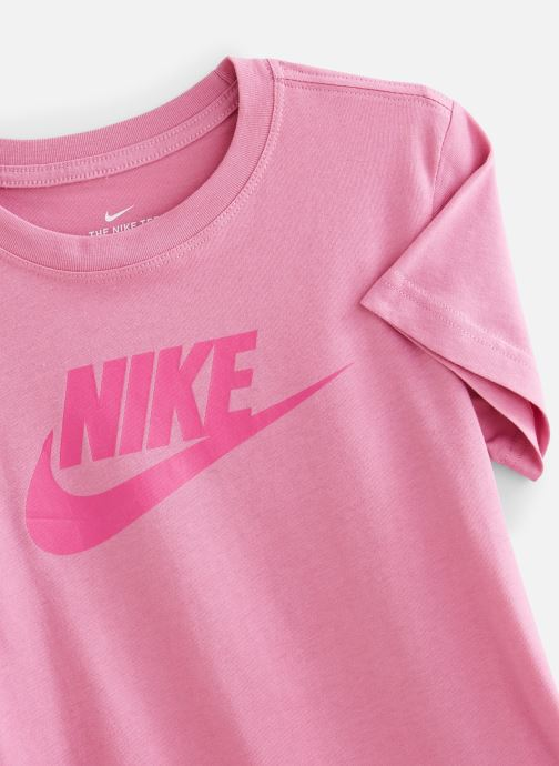 Vêtements Nike Nike Sportswear Tee Dptl Basic Futura Rose vue portées chaussures